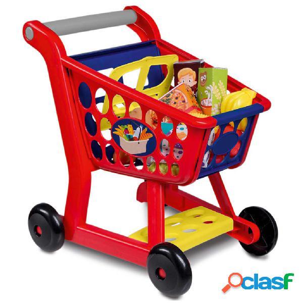 Happy People Carrito de la compra de juguete plástico