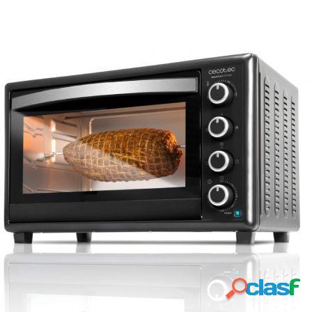 Horno de sobremesa cecotec bake and toast 750 gyro/ 2000w/