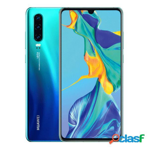 Huawei p30 6gb/128gb azul (aurora blue) single sim
