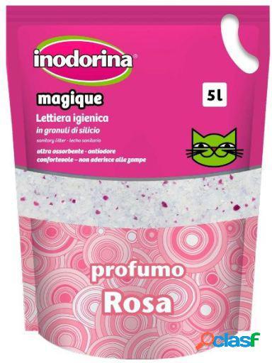 Inodorina Magique Lecho Perfumado Rosa 5 L