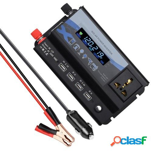 Inversor de corriente de 360 W Convertidor de 12 V CC a 220