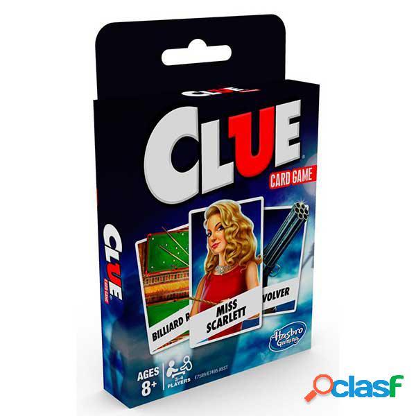 Juego de Cartas Clasicos Cluedo