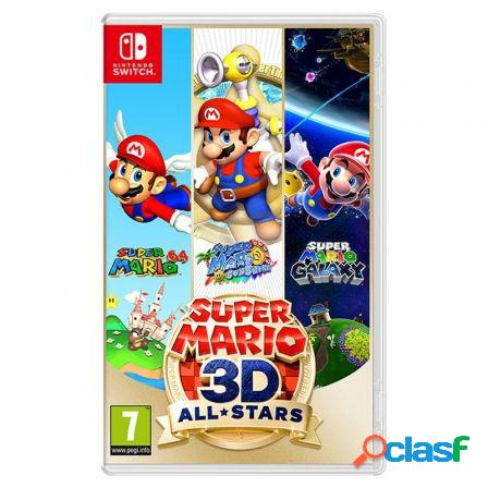 Juego para consola nintendo switch super mario 3d all-stars
