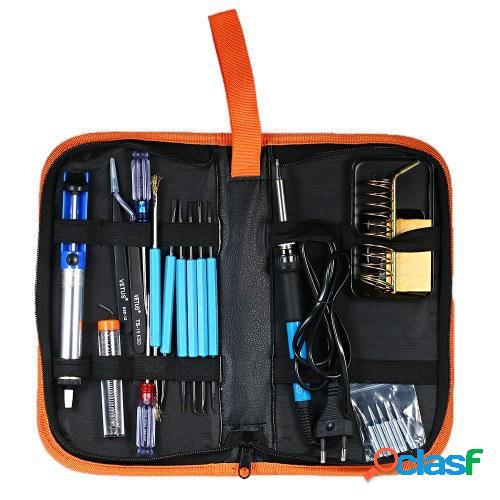 Kit de soldador electrónico de 20 piezas con herramientas