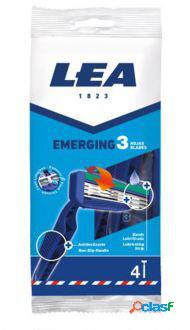 Lea Premium 3 Hojas Maquinilla Desechable 4 Uds