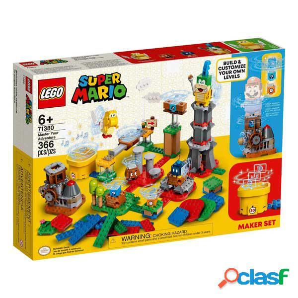Lego Super Mario 71380 Set de Creaci?n: Tu propia aventura