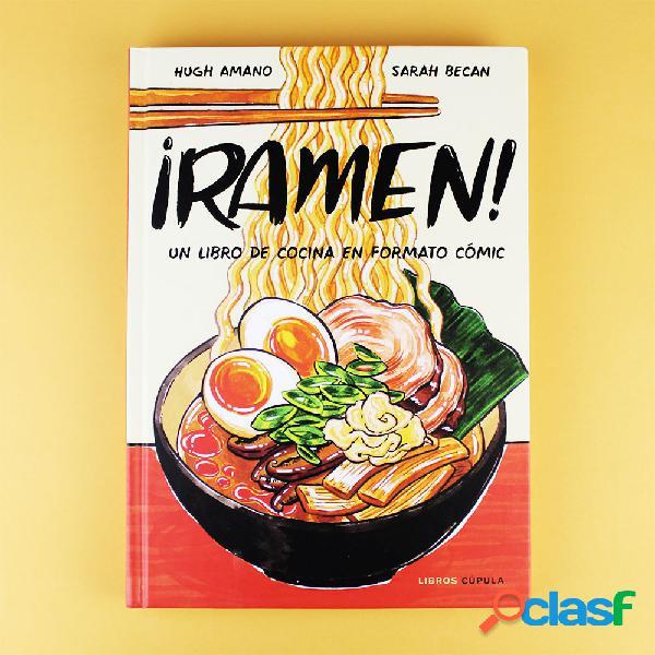 """Libro """"Ramen: un Libro de Cocina en formato Comic"""""""