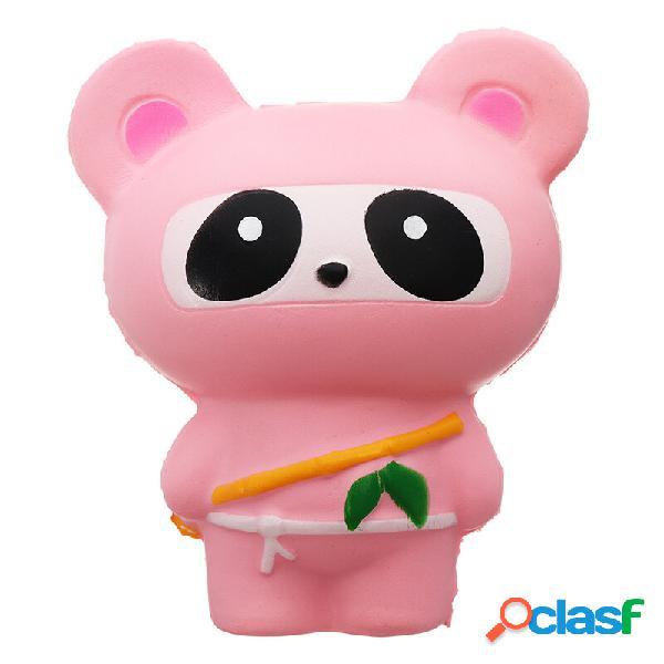 Lindo Jumbo Squishy Ninja Gato Fox Panda Scented Super Slow