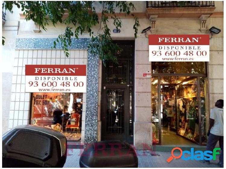 Local comercial en alquiler, Tamarit, Barcelona.