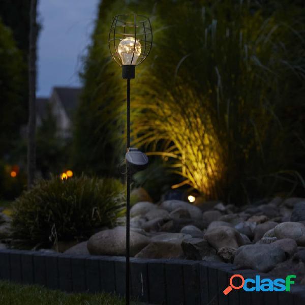 Luxform Lámpara solar LED con pincho para jardín Bottle 2