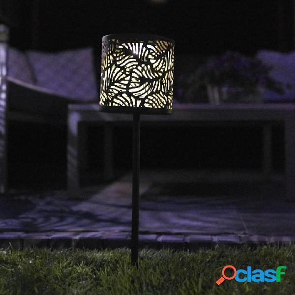 Luxform Lámpara solar LED con pincho para jardín Forest