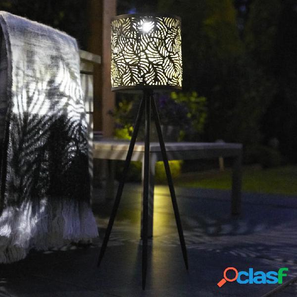 Luxform Lámpara solar LED con trípode para jardín Forest