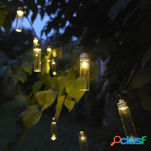 Luxform Lámparas solares LED para fiestas 14 uds Gordo