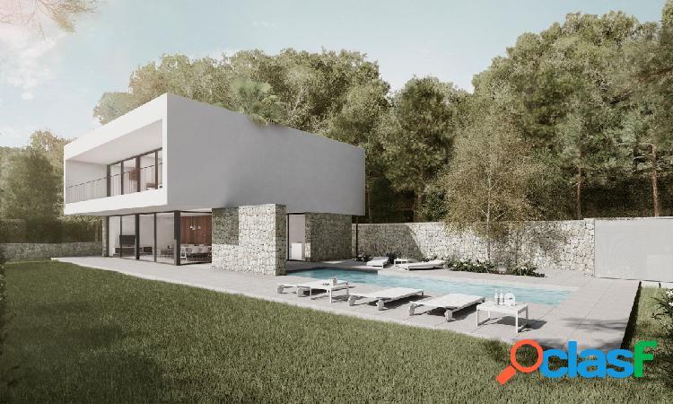 Magnífica villa en la zona verde de Calpe.