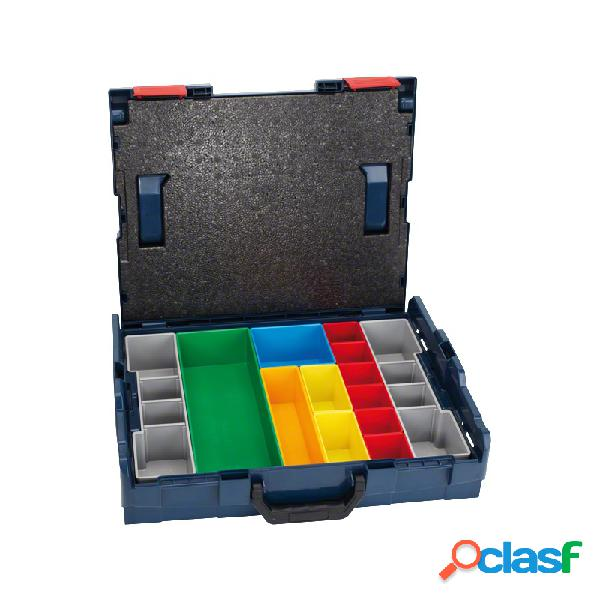 Maletin de transporte bosch l-boxx 102 + set de 13 piezas