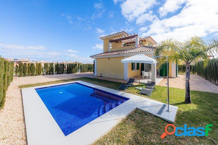 Mallorca, Cala Murada, villa con 2 habitaciones, piscina y