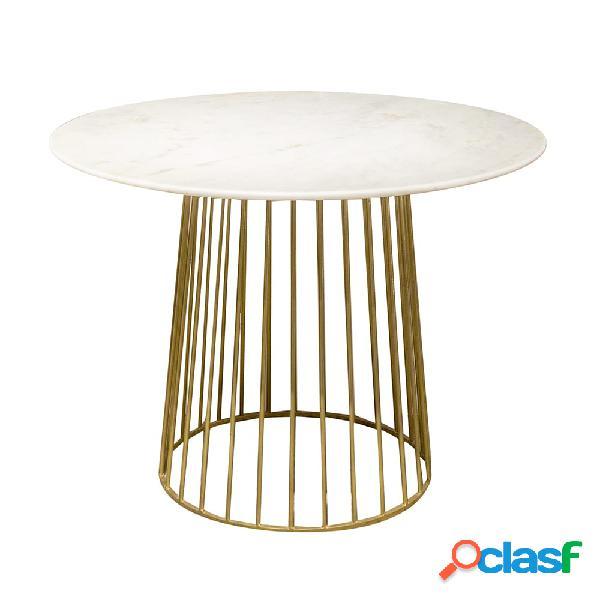 Mesa de comedor de mármol Gold Ø100cm