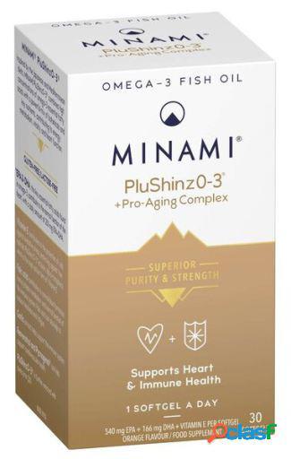 Minami Nutrition Suplemento PluShinz 0.3 + Proaging Complex