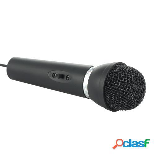 Mini micrófono con soporte 3.5mm Jack Micrófono de