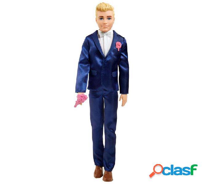 Muñeco Ken con Traje de Novio Barbie.