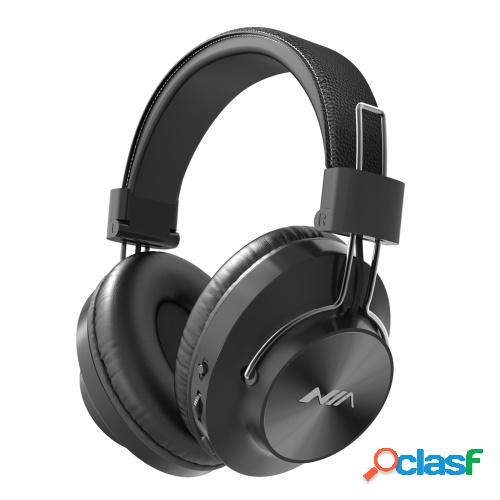 NIA S4000 Auriculares de música plegables para colocar en