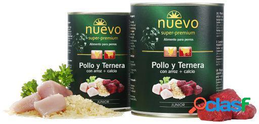 NUEVO ALIMENTO HUMEDO PARA PERRO JUNIOR POLLO Y TERNERA 800
