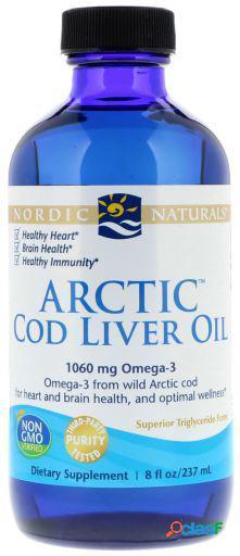 Nordic Naturals Aceite de Hígado de Bacalao Ártico 237 ml