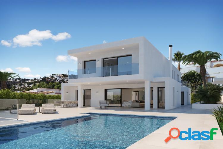 Nueva villa de lujo con vistas al mar en Moraira