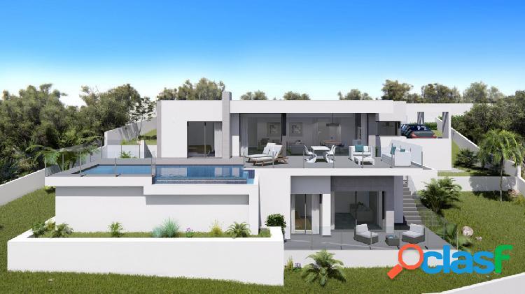 Nueva villa moderna con vistas al mar en Benitachell