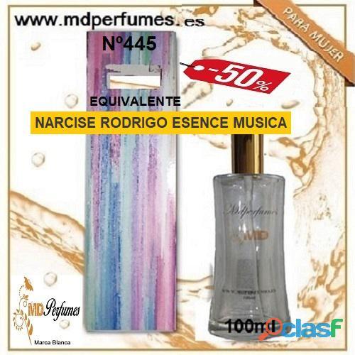 Oferta 10€ Perfume Mujer NARCISE RODRIGO ESENCE MUSICA