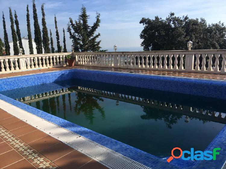 ¡¡Oportunidad!! Gran torre con piscina en Santa Susanna
