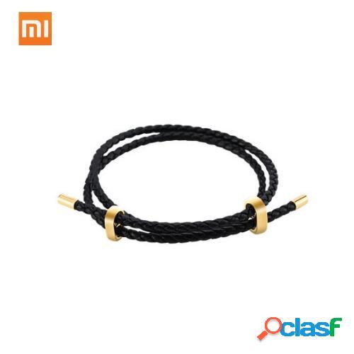 Original Xiaomi Mijia LUCKYME Wild Genuino Cuerda de cuero