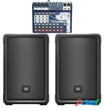 PACK JBL IRX 112BT + SOUNDCRAFT NOTEPAD 12FX