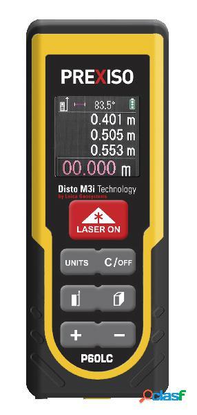 PREXISO 8250374 - Medidor láser de hasta 60 m con pantalla