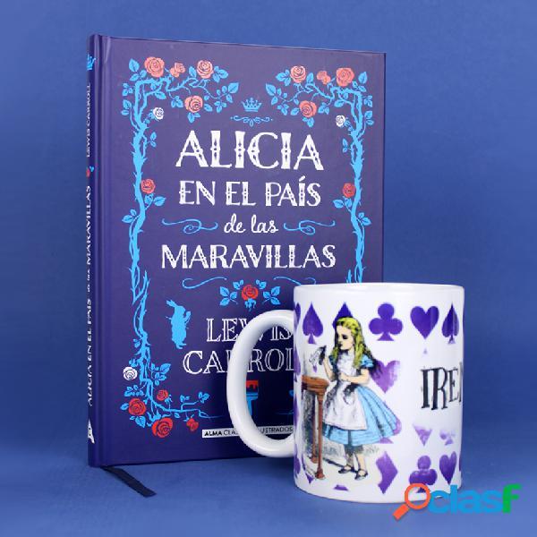 Pack Libro Alicia en el país de las Maravillas + Taza