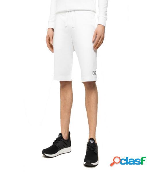 Pantalon Corto EA7 XL Blanco Extra Large