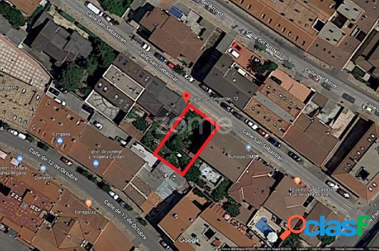 Parcela urbana de 277 m² en Torrejón de la Calzada.
