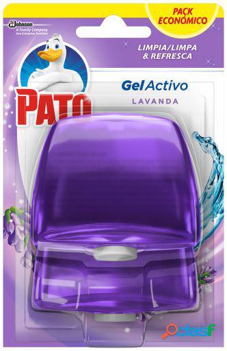 Pato Recambio de Gel Limpiador de Inodoros Lavanda 2 uds