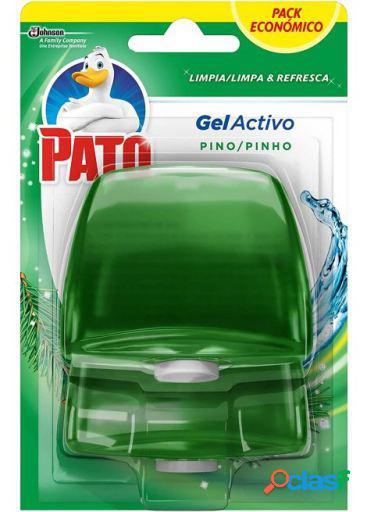 Pato Recambio de Gel Limpiador de Inodoros Pino 2 uds