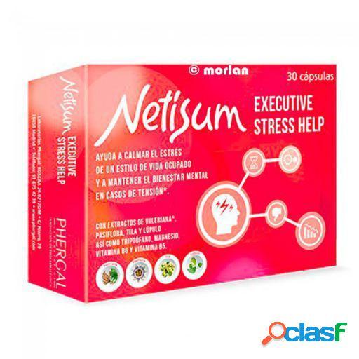 Phergal Netisum Executive Stress Help 30 Capsulas