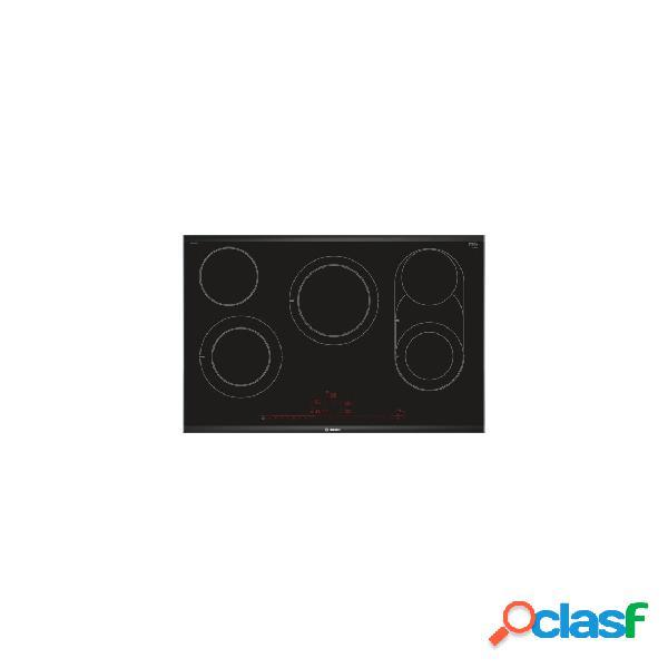 Placa Vitrocerámica - Bosch PKM875DP1D 5 Zonas 80 cm Negro