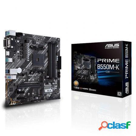 Placa base asus prime b550m-k socket am4/ micro atx
