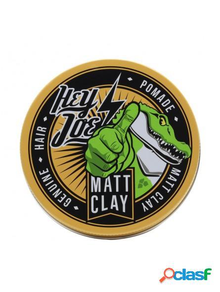 Pomada para el cabello Mat Clay Hey Joe 100gr