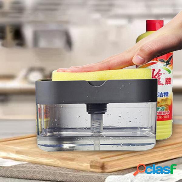 Presione Jabón Dispensador de fregadero de cocina con