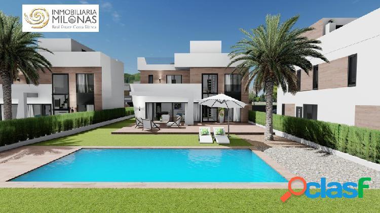 Promoción de obra nueva – 3 exclusivas villas