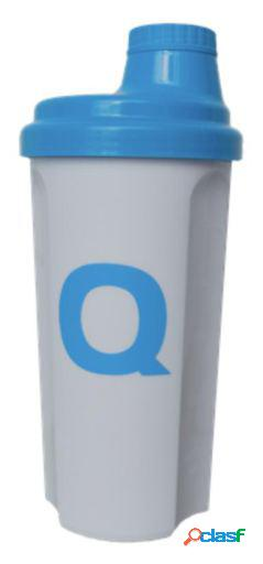 Quamtrax Nutrition Shaker Q Blanco Azul 500 ml