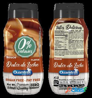 Quamtrax Nutrition Syrup Dulce de Leche 330 ml