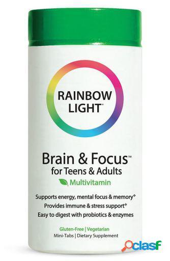 Rainbow Light Brain & Focus Multivitamínico para