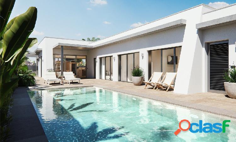 SE VENDEN exclusivas villas en zona residencial en San
