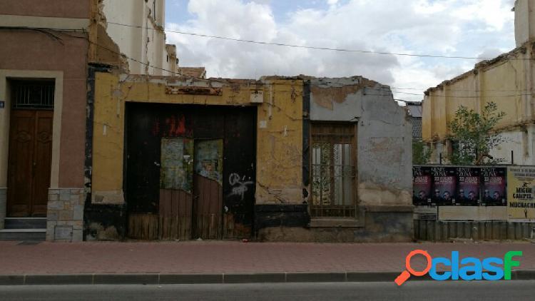 SOLAR URBANIZABLE EN CALLE MAYOR DE ALGUAZAS (MURCIA)